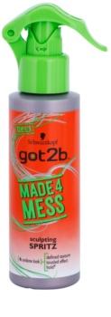 got2b Made 4 Mess tvarující sprej na vlasy