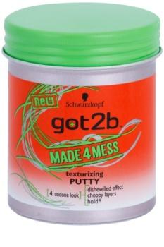 got2b Made 4 Mess pasta de modelação para cabelo