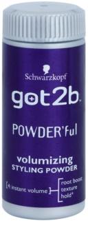 got2b PowderFul pó de styling para volume perfeito