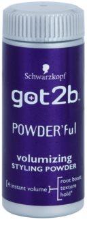 got2b PowderFul puder do stylizacji dla doskonałej objętości