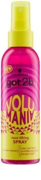got2b Volumania spray para dar definición al peinado para dar volumen desde las raíces
