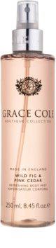 Grace Cole Boutique Wild Fig & Pink Cedar erfrischendes Bodyspray
