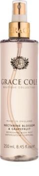 Grace Cole Boutique Nectarine Blossom & Grapefruit osvěžující tělový sprej