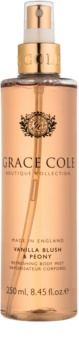 Grace Cole Boutique Vanilla Blush & Peony spray corporal refrescante