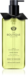 Grace Cole Boutique Lime & Orange Blossom tekoče milo za roke