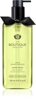 Grace Cole Boutique Lime & Orange Blossom tekuté mýdlo na ruce