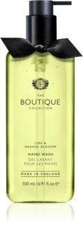 Grace Cole Boutique Lime & Orange Blossom рідке мило для рук