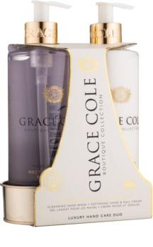 Grace Cole Boutique Nectarine Blossom & Grapefruit Cosmetic Set II.