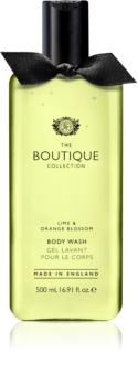 Grace Cole Boutique Lime & Orange Blossom gel za prhanje