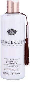 Grace Cole Boutique Ginger Lily & Mandarin hydratační tělové mléko