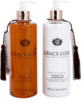 Grace Cole Boutique Ginger Lily & Mandarin Cosmetic Set I.