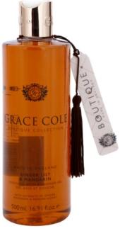 Grace Cole Boutique Ginger Lily & Mandarin zklidňující koupelový a sprchový gel