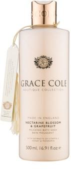 Grace Cole Boutique Nectarine Blossom & Grapefruit Relaxing Bath Foam