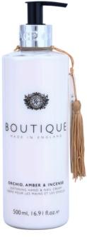 Grace Cole Boutique Orchid, Amber & Incense пом'якшуючий крем для рук та нігтів