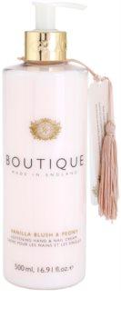 Grace Cole Boutique Vanilla Blush & Peony creme amaciador para mãos e unhas