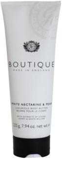 Grace Cole Boutique White Nectarine & Pear luxusné telové maslo
