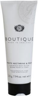 Grace Cole Boutique White Nectarine & Pear manteiga corporal luxuosa