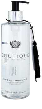 Grace Cole Boutique White Nectarine & Pear sabonete líquido para mãos