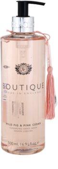 Grace Cole Boutique Wild Fig & Pink Cedar sabonete líquido para mãos