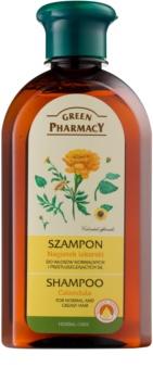 Green Pharmacy Hair Care Calendula sampon pentru par normal spre gras