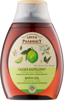 Green Pharmacy Body Care Bergamot & Lime олійка для ванни