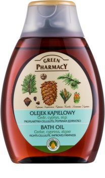 Green Pharmacy Body Care Cedar & Cypress & Algae aceite de baño