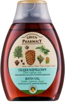 Green Pharmacy Body Care Cedar & Cypress & Algae óleo de banho