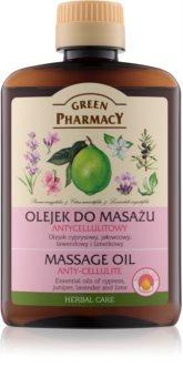 Green Pharmacy Body Care masážny olej proti celulitíde
