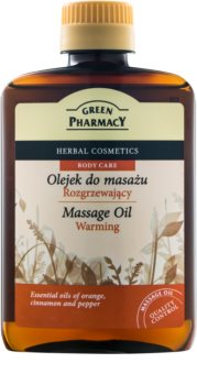 Green Pharmacy Body Care óleo de massagem morno