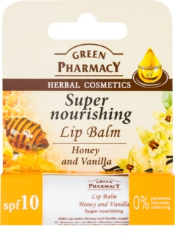 Green Pharmacy Lip Care výživný balzám na rty SPF 10