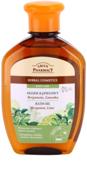 Green Pharmacy Body Care Bergamot & Lime ulei pentru baie