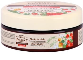 Green Pharmacy Body Care Cranberry & Cloudberry manteiga corporal