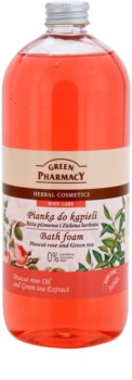 Green Pharmacy Body Care Muscat Rose & Green Tea Badschaum