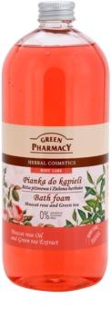 Green Pharmacy Body Care Muscat Rose & Green Tea пінка для ванни