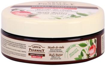 Green Pharmacy Body Care Muscat Rose & Green Tea Körperbutter