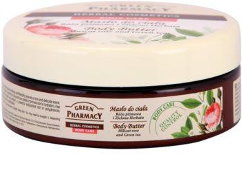 Green Pharmacy Body Care Muscat Rose & Green Tea telové maslo