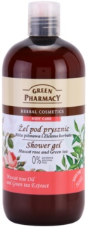 Green Pharmacy Body Care Muscat Rose & Green Tea gel de duche