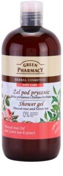 Green Pharmacy Body Care Muscat Rose & Green Tea gel za prhanje