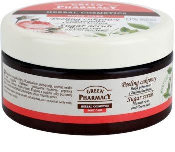 Green Pharmacy Body Care Muscat Rose & Green Tea Zucker-Peeling