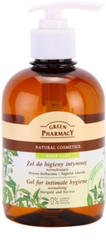 Green Pharmacy Body Care Marigold & Tea Tree gel para higiene íntima