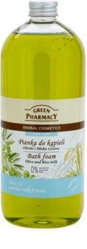 Green Pharmacy Body Care Olive & Rice Milk pena do kúpeľa