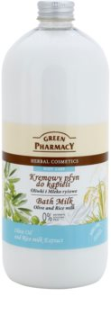 Green Pharmacy Body Care Olive & Rice Milk mleko za kopel