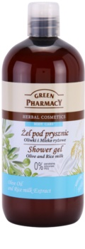 Green Pharmacy Body Care Olive & Rice Milk gel de duche
