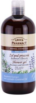 Green Pharmacy Body Care Rosemary & Lavender gel de dus