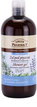 Green Pharmacy Body Care Rosemary & Lavender гель для душу