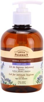 Green Pharmacy Body Care Sage & Allantoin gel calmant pentru igiena intima