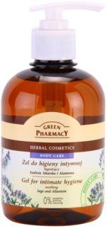 Green Pharmacy Body Care Sage & Allantoin заспокоюючий гель для інтимної гігієни