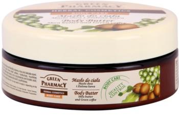 Green Pharmacy Body Care Shea Butter & Green Coffee manteiga corporal