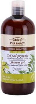Green Pharmacy Body Care Shea Butter & Green Coffee gel doccia