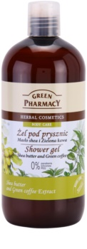 Green Pharmacy Body Care Shea Butter & Green Coffee душ гел